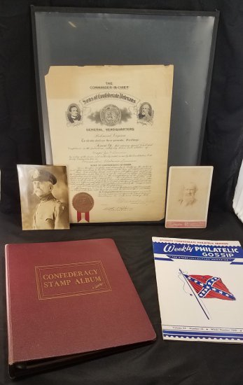 Confederate Grouping Lot