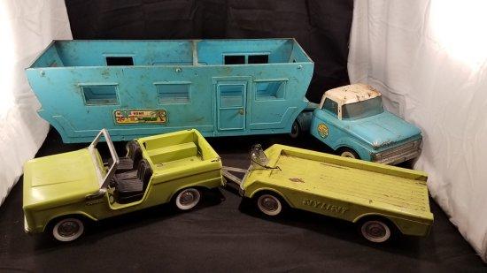 Vintage Nylint Toys