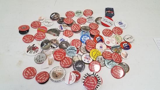 Vintage Soap Box Derby Buttons