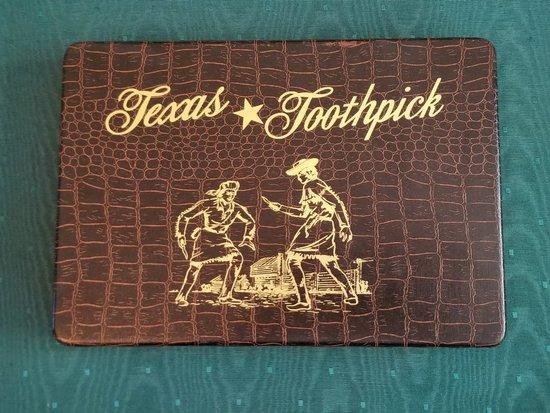Case XX Texas Thoothpick Set 004 of 300, 1982