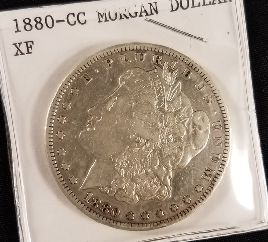 1880 Carson City Morgan Dollar