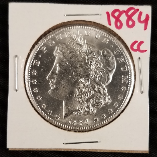 1884 CC Morgan Dollar