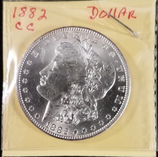 1882 CC Morgan Dollar