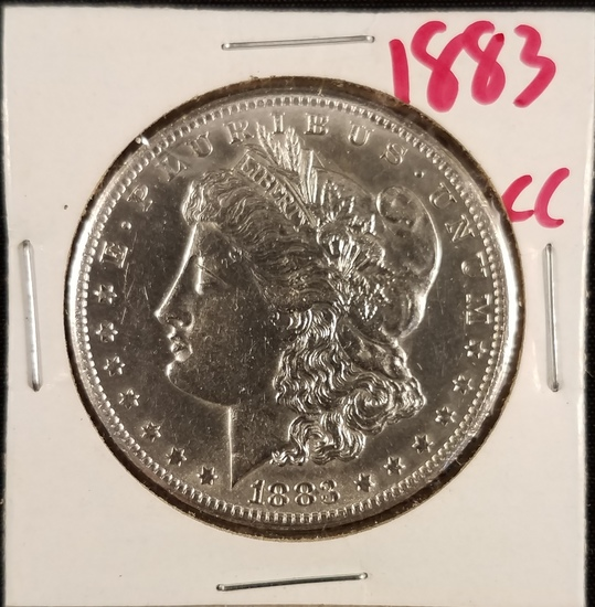 1883 Carson City Morgan Dollar