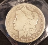 1889 CC Morgan Dollar Key Date