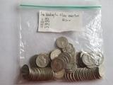82 Washinton Silver quarters lot