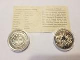 Liberia Proof Coins
