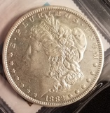 1882 Carson City Morgan Dollar