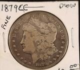 1879 Carson City Morgan Dollar