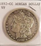 1892 Carson City Morgan Dollar