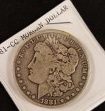 1881 Carson City Morgan Dollar