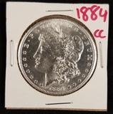 1884 CC Morgan Dollar