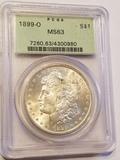 1899-O Morgan Dollar MS63