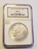 1878 7TF Reverse of 1879 Morgan Dollar