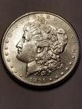1891 S Morgan Dollar MS 63+