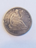1853 seated Liberty With Rays/Arrows