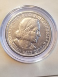 1892 Worlds Columbian Exposition Coin