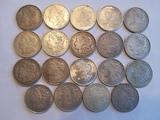 19 Morgan Dollar Lot