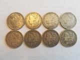 Morgan Dollar Lot from San Francisco Mint 8 Coins