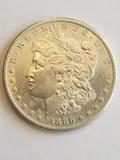 1886 S Morgan Dollar BU