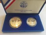 1986 Liberty Silver Dollar Proof Set