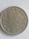 1883 Liberty Nickel BU