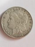 1904 S Morgan Dollar