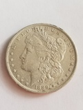 1889 O Morgan Dollar AU