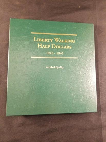 Liberty Walking Half Dollar Lot