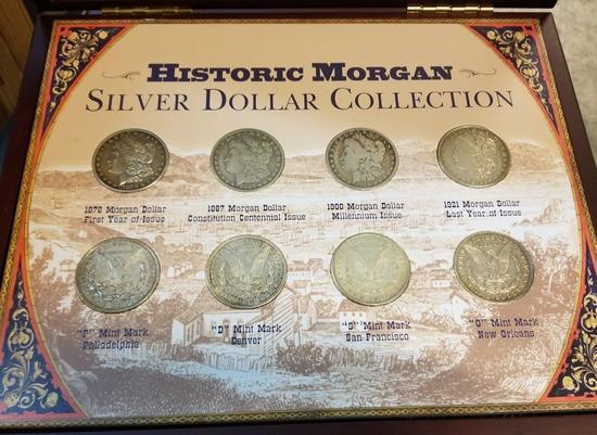 Historic Morgan Dollar Lot
