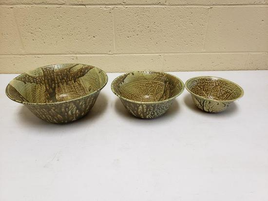 Steve Turpin nesting bowl set