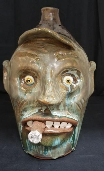 Billy Joe Craven Face Jug