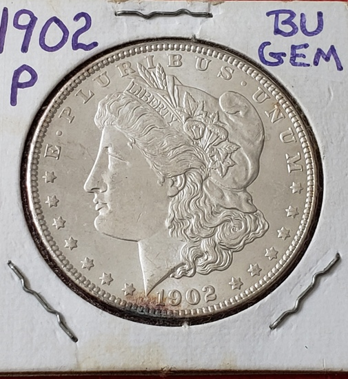 1902 P Morgan Dollar Choice BU