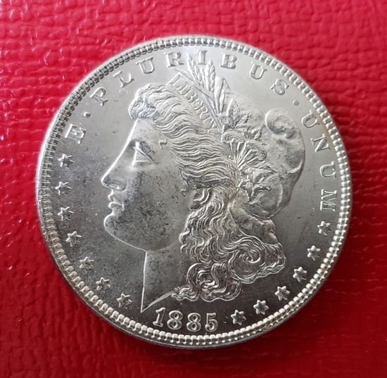 1885 P Morgan Dollar Choice BU