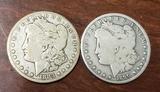 Carson City Morgan Dollar Lot of Two coin's
