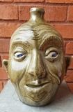 Clint Alderman Face Jug