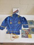 1950s Captain Video Child's Costume