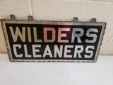 1930s Wilders Cleaners Sign