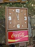 1970s Coca Cola Clock