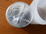 US Silver Eagle Lot of 20 BU Coins