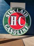 1955 Sinclair HC Porcelain Sign