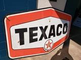 1960 Texaco Porcelain Sign