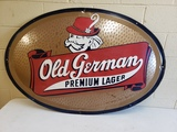 1957 Old German Lager Sign