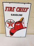 1958 Texaco Fire Chief Pump Plate