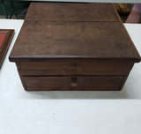 Antique Wood Country Store Cash Box