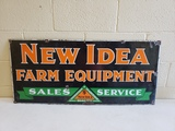 1950s New Idea Farm Equipment Sign