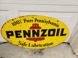 1970 Pennzoil Sign