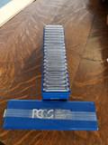 20- PCGS MS 63 Morgan Silver Dollars