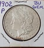 1902 P Morgan Dollar Choice BU