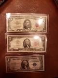 US Paper  Money  Note lot